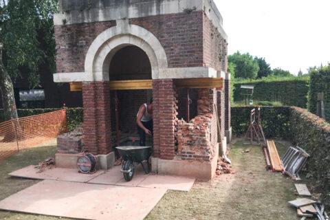 Restauratie schuilgebouw – CWGC